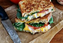 Sensational Sandwiches / Vegetarian & vegan (or easily adaptable) sandwiches for a fabulous lunch at home.