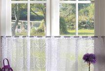 cozinha, cortinas