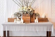 Guestbook & Welcome Tables