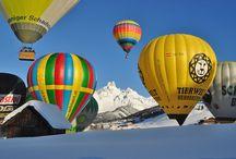 Heißluftballonwochen in Filzmoos