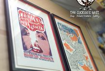 Cuckoo's Nest Frames / Paintings, Photos and other things we've framed at The Cuckoo's Nest in Oxfordshire, UK