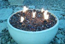 Oheň v záhrade