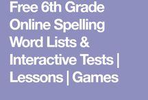 School - Spelling