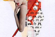 Handmade collages