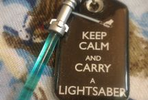 Pardon me, do you have a light.....saber? / by Effie Blasini, LMT - Starseed