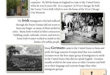 Mini History Lesson: Historic Immigrant Groups / Learn a bit about the first immigrant groups to build a permanent settlement in West Chicago. The town's original name of Turner was changed to West Chicago in 1896 in an effort to promote industry and growth.