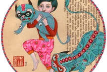 tamed monsters series: who is who by revolenka, via Flickr
