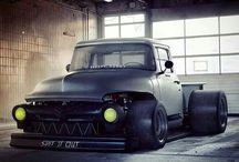rats trucks & cars
