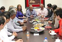 POLITICA SONORA / #LaRealnoticia Manlio F. Beltrones, Pri Estatal  Instalan Mesas de Trabajo