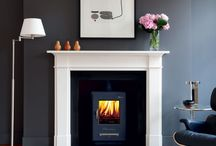 Fireplace &a Mantle Ideas