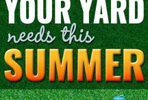 Yard and Garden / Ideas for the yard and garden.