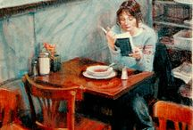 Art of Reading / Who knew that there were so many images of people reading in art?!