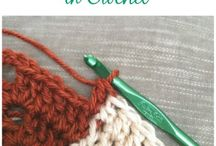 Crochet tips and stitches