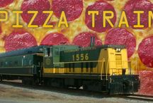 Pizza / We LOVE pizza! Check out our fav recipes here! Enjoy a relaxing leisurely train ride while munching on amazing pizza during our noon Pizza Train rides on Tuesdays this July and August. Get tickets now!https://tickets.waterloocentralrailway.com/search