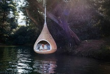 Greater Outdoors / hammocks, camping, cool outdoor spots, beauty of nature, campers, trailers