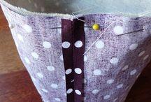 Couture Pochon et vide poche