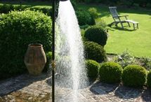 душ-фонтан