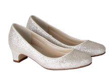 Rainbow Club / Rainbow Club Girls White/Ivory Satin Shoes In Store & Online