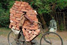 Bringhand.de sammelt Transportideen / In dieser Pinwand sammeln wir die weltweit lustigsten Transportideen. :-)