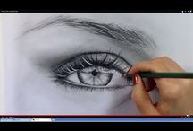 szem rajzolása