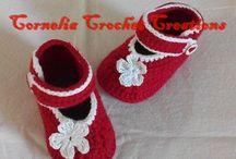 sandale crosetate pentru ...bebelusi