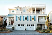 """Bayside Homes by Marnie Custom Beach Homes / Marnie Oursler is the founder and president of Marnie Homes, a custom home building company based in Bethany Beach, Delaware. A fifth generation builder, Marnie combines a builder's technical knowledge with a designer's sensibility — """"Building with Design in Mind.""""   In 2012, after building the """"All American House"""" using more than 90% domestic building materials, Marnie teamed up with 84 Lumber and helped create the national """"We Build American"""" campaign for which she is a spokesperson."""