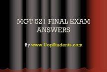 MGT 521 Final Exam