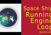 Spaceships and Alien Spacecrafts Engine Sounds / Spaceships and Alien Spacecrafts engine sounds created digitally. Only one was recorded live, the alien spacecraft :-)