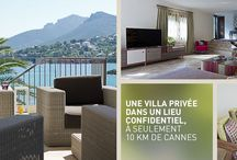 #Villa Azur by #TiaraHotels - Côte d'Azur / #Villa Azur - Your experience of a luxury serviced residence on the French #Riviera. L'expérience d'une résidence privée sur la Côte d'Azur. #villarental #cotedazur