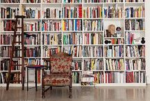 Books in Homes/Libraries/Stores / Just because, well, books do furnish a room...