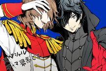 P5 - Akira + Goro
