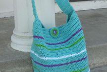 Crochet fashion items