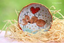 Mason Jar Lid crafts / DIY Fridge Magnets out of jar lids Cute fridge magnets mason jar lids DIY Recycled Jar Lids