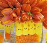 CELEBRATE: Hoppy Easter, Everybunny! / Great ideas for Easter table settings, centerpieces, crafts, desserts etc.!! / by Abby Strong