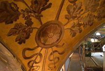 Det Kongelige Teater / Restaurering af Det Kongelige Teater. #restaurering #forgyldning #dekorationsmaler