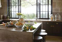 Wine Country Contemporary / Rustic architectural elements combined with modern furnishings and finishes.