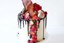 nepotahované dorty