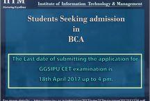 BCA CET Examinations