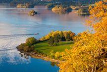 Anglie,Skotsko - krajina