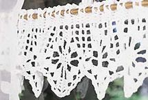 Crochet curtains patterns / by Françoise PERNEL-HOURIEZ