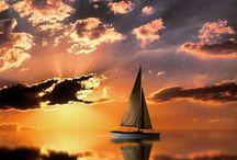 tramonto trasparente