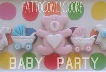 biscuits & cakes / decorazioni personalizzate di torte , biscotti e confetti