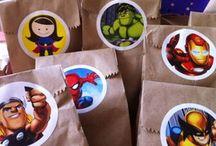 festa de super herois