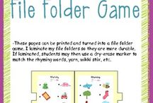 file folder games / by Amber Auldridge