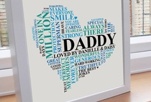 """Father's Day / All things """"Daddy""""...DIY gifts, precious moments, and more!"""