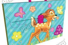 Maletines Plásticos Bambi / Línea Escolar Primavera Regresa a Clases con TODO