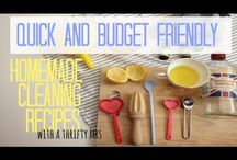Thrifty Cleaning / The best selection of reliable cheap cleaning recipes and housekeeping tips. / by A Thrifty Mrs