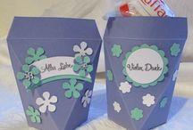 Selbstschließende Box / Schöne Verpackungsidee