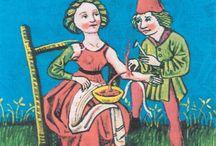 Medieval scenes