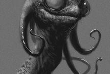 Monstruo Concept Art / ideas para el bicho